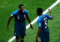 Paul POGBA, Samuel UMTITI <br /> Celebration Victory France <br /> Moscow 15-07-2018 Football FIFA World Cup Russia  2018 Final / Finale <br /> France - Croatia / Francia - Croazia <br /> Foto Matteo Ciambelli/Insidefoto