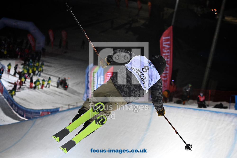 Birk Irving (USA) during the Men's Half Pipe Final on Day Eleven of the FIS Freestyle Ski &amp; Snowboard World Championships 2017 at Sierra Nevada Ski Station, Granada<br /> Picture by Kristian Kane/Focus Images Ltd +44 7814 482222<br /> 18/03/2017