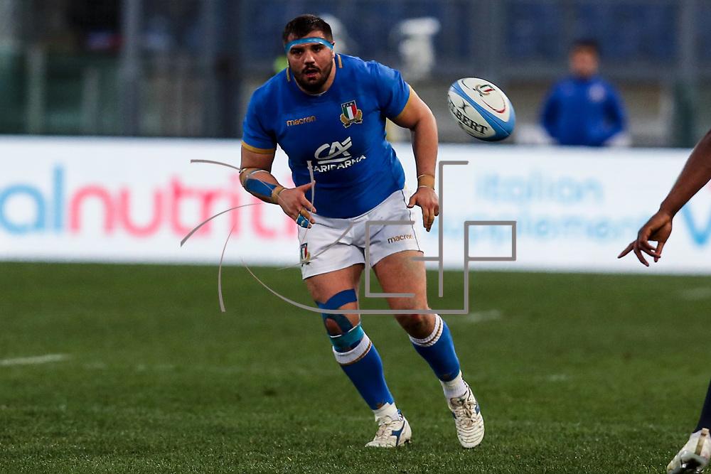 Roma 04/02/2018 Stadio Olimpico<br /> Natwest 6 nations Italia vs Inghilterra<br /> Nicola Quaglio
