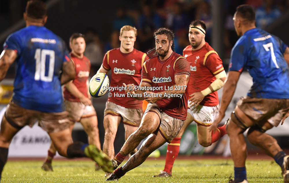 23.06.17 - Samoa v Wales -<br /> Josh Navidi of Wales.<br /> Copyright photo: Ben Evans / www.photosport.nz