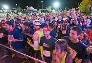 Runners at the start line of the course at the Red Bull Wings For Life World Run in Denver, CO, USA on 4 May, 2014. ©Brett Wilhelm