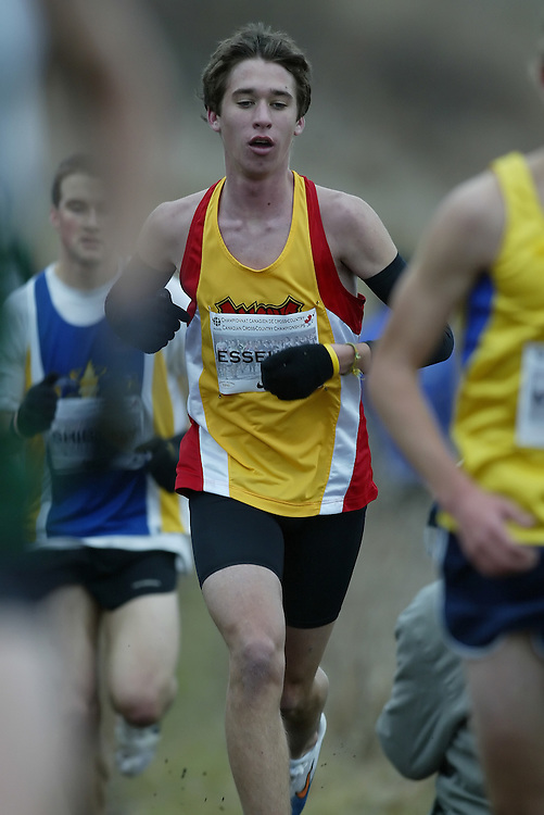 (Guelph, Ontario---28 November 2009)  of  runs in the  Men's at the 2009 AGSI Cross Country Championships in Guelph, Ontario, November 28, 2009..Sean Burges/ Mundo Sport Images, 2009