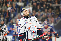 2018-09-22 | Växjö, Sweden: Linköping HC Lukas Bengtsson (32) during the game between Växjö and Linköping at Vida Arena ( Photo by: Fredrik Sten | Swe Press Photo )<br /> <br /> Keywords: Ice hockey, Växjö, SHL, Linköping, Vida Arena, Ice hockey, Växjö, SHL, Växjö, Linköping, Vida Arena