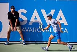 at ATP Challenger Zavarovalnica Sava Slovenia Open 2018, on August 4, 2018 in Sports centre, Portoroz/Portorose, Slovenia. Photo by Urban Urbanc / Sportida