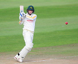 Billy Root of Nottinghamshire in action.  - Mandatory by-line: Alex Davidson/JMP - 22/09/2016 - CRICKET - Cooper Associates County Ground - Taunton, United Kingdom - Somerset v Nottinghamshire - Specsavers County Championship Division One
