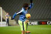 Huddersfield Town midfielder Phillip Billing during the Sky Bet Championship match between Milton Keynes Dons and Huddersfield Town at stadium:mk, Milton Keynes, England on 23 February 2016. Photo by Dennis Goodwin.