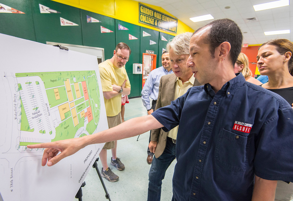 Bond community meeting at Garden Oaks Elementary School, June 2, 2015.