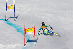 Zan Kranjec of Slovenia competes during 1st Run of Men's Giant Slalom of FIS Ski World Cup Alpine Kranjska Gora, on March 5, 2011 in Vitranc/Podkoren, Kranjska Gora, Slovenia.  (Photo By Vid Ponikvar / Sportida.com)