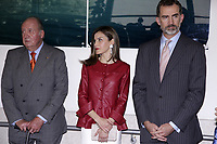 King Juan CarlosI, Queen Letizia of Spain and King Felipe VI of Spain attend the 40th anniversary of Reina Sofia Alzheimer Foundation. May 21 ,2017. (ALTERPHOTOS/Pool)