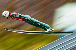 Jurij Tepes during national competition in Ski Jumping, 8th of October, 2016, Kranj,  Slovenia. Photo by Grega Valancic / Sportida