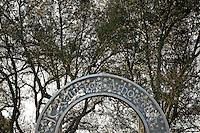 Gate to Raulston Arboretum.