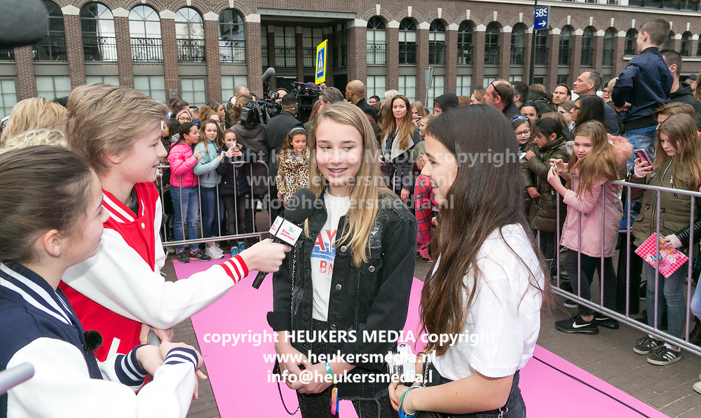 2018-03-24. Club Panama, Amsterdam. Veed Awards 2018. Op de foto: Girlys Blog