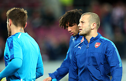 Jack Wilshere of Arsenal looks on - Mandatory by-line: Robbie Stephenson/JMP - 23/11/2017 - FOOTBALL - RheinEnergieSTADION - Cologne,  - Cologne v Arsenal - UEFA Europa League Group H