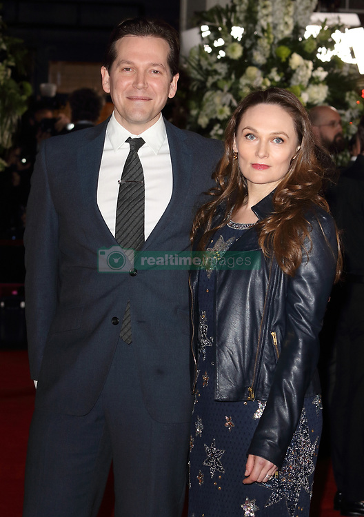 February 18, 2019 - London, United Kingdom - Joe Shrapnel and Anna Waterhouse at The Aftermath World Premiere at the Picturehouse Central, Shaftesbury Avenue and Great Windmill Street. (Credit Image: © Keith Mayhew/SOPA Images via ZUMA Wire)