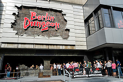 Exterior of Berlin Dungeon tourist Attraction in Berlin Germany