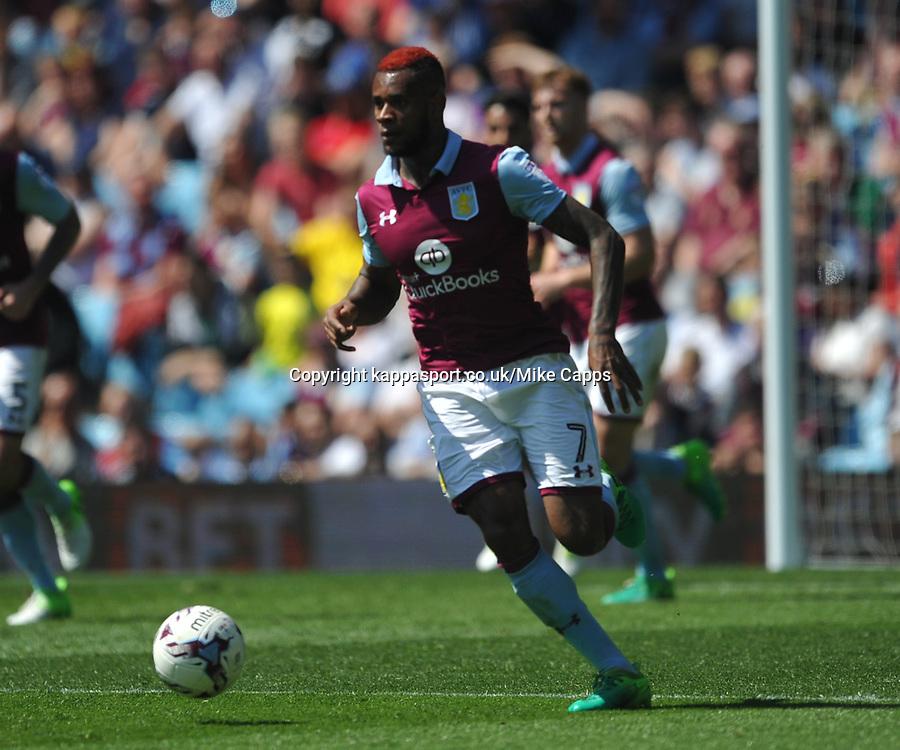 Aston Villa v Brighton &amp; Hove Albion Sky Bet Championship Villa Park, Brighton Promoted to Premiership Sunday 7th May 2017 Score 1-1 <br /> Photo:Mike Capps