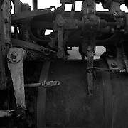 Black and white film series.