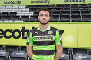 Farrend Rawson signs for Forest Green Rovers at the New Lawn, Forest Green, United Kingdom on 4 January 2018. Photo by Shane Healey.