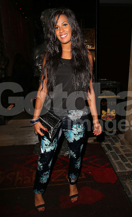 Bianca Lake at Steven Goode and Kimberly Kisselovich's&nbsp;engagement party at Shaka Zulu, Stables Market in London, UK. 29/11/2014<br /> BYLINE MUST READ : JAMESY/GOTCHA IMAGES<br /> <br /> Copyright by &copy; Gotcha Images Ltd. All rights reserved.<br /> Usage of this image is conditional upon the acceptance <br /> of Gotcha Images Ltd, terms and conditions available at<br /> www.gotchaimages.com