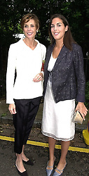 Left to right, LADY DE ROTHSCHILD and her daughter <br /> MISS JESSICA DE ROTHSCHILD, at a party in London <br /> on 5th July 2000.OGB 135<br /> © Desmond O'Neill Features:- 020 8971 9600<br />    10 Victoria Mews, London.  SW18 3PY <br /> www.donfeatures.com   photos@donfeatures.com<br /> MINIMUM REPRODUCTION FEE AS AGREED.<br /> PHOTOGRAPH BY DOMINIC O'NEILL