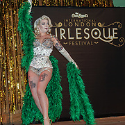Betty Rose Royal *London, UK preforms at the London Burlesque Festival - The Crown Jewels at Conway Hall on 19th May 2017, UK. by See Li