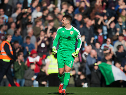 Thomas Heaton of Burnley celebrates their first goal - Mandatory by-line: Jack Phillips/JMP - 23/02/2019 - FOOTBALL - Turf Moor - Burnley, England - Burnley v Tottenham Hotspur - English Premier League