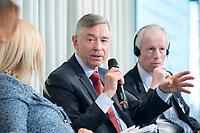 09 MAY 2019, BERLIN/GERMANY:<br /> Dr. Karl Brauner, Vize-Generaldirektor der World Trade Organization, Wirtschaftskonferenz des Wirtschaftsforums der SPD, Kalkscheune<br /> IMAGE: 20190509-01-103