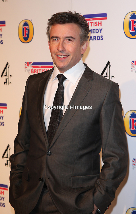 STEVE COOGAN attends the British Comedy Awards at Fountain Studios, London, England, December 12, 2012. Photo by i-Images.