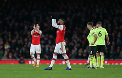 Alexandre Lacazette of Arsenal applauds the fans as he leaves the pitch - Mandatory by-line: Arron Gent/JMP - 18/01/2020 - FOOTBALL - Emirates Stadium - London, England - Arsenal v Sheffield United - Premier League