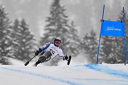 Downhill, MORII Taiki, LW11, JPN at the WPAS_2019 Alpine Skiing World Championships, Kranjska Gora, Slovenia