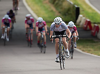 LONDON UK 29TH JULY 2016:  Youth A Boys U16. Prudential RideLondon Grand Prix at the London Velo Park. Prudential RideLondon in London 29th July 2016<br /> <br /> Photo: Jed Leicester/Silverhub for Prudential RideLondon<br /> <br /> Prudential RideLondon is the world's greatest festival of cycling, involving 95,000+ cyclists – from Olympic champions to a free family fun ride - riding in events over closed roads in London and Surrey over the weekend of 29th to 31st July 2016. <br /> <br /> See www.PrudentialRideLondon.co.uk for more.<br /> <br /> For further information: media@londonmarathonevents.co.uk