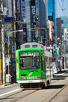 Sapporo is famous for its tram cars which ply the streets of the city.