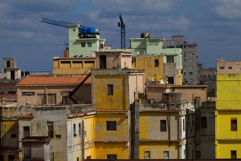 Construction in Havana, cuba.