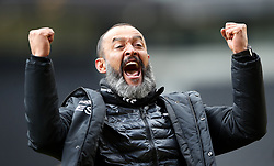 File photo dated 04-05-2019 of Wolverhampton Wanderers manager Nuno Espirito Santo during the Premier League match at Molineux, Wolverhampton.