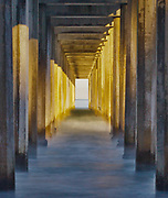 Sunrise, Scripps Pier, La Jolla, California  2010