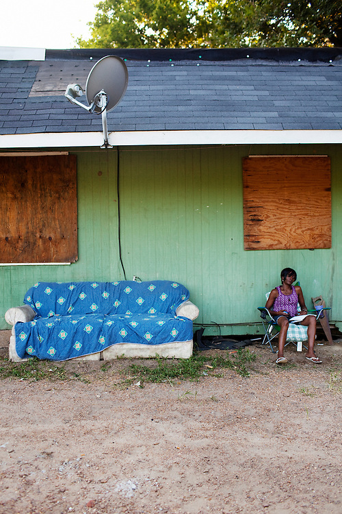 in the Baptist Town neighborhood of Greenwood, Mississippi on Sept. 25, 2010.