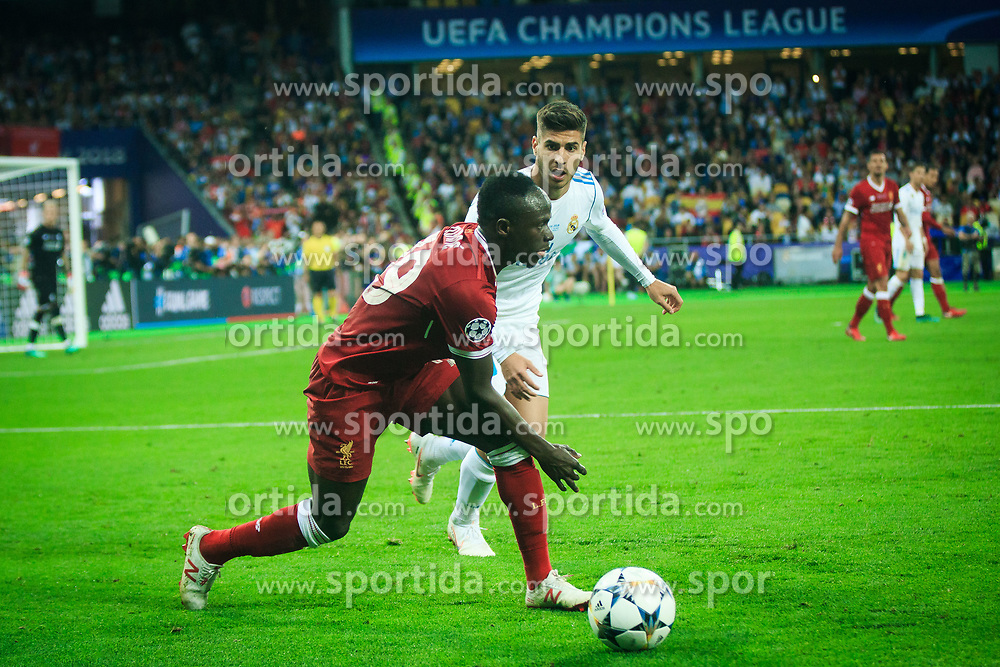 Sadio Mané of Liverpool during the UEFA Champions League final football match between Liverpool and Real Madrid at the Olympic Stadium in Kiev, Ukraine on May 26, 2018.Photo by Sandi Fiser / Sportida