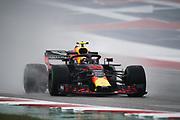 October 18-21, 2018: United States Grand Prix.   Max Verstappen (DEU), Aston Martin Red Bull Racing, RB14