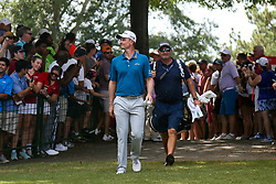 September 22, 2018 - Atlanta, Georgia, United States - Justin Rose approaches the first tee during the third round of the 2018 TOUR Championship. (Credit Image: © Debby Wong/ZUMA Wire)