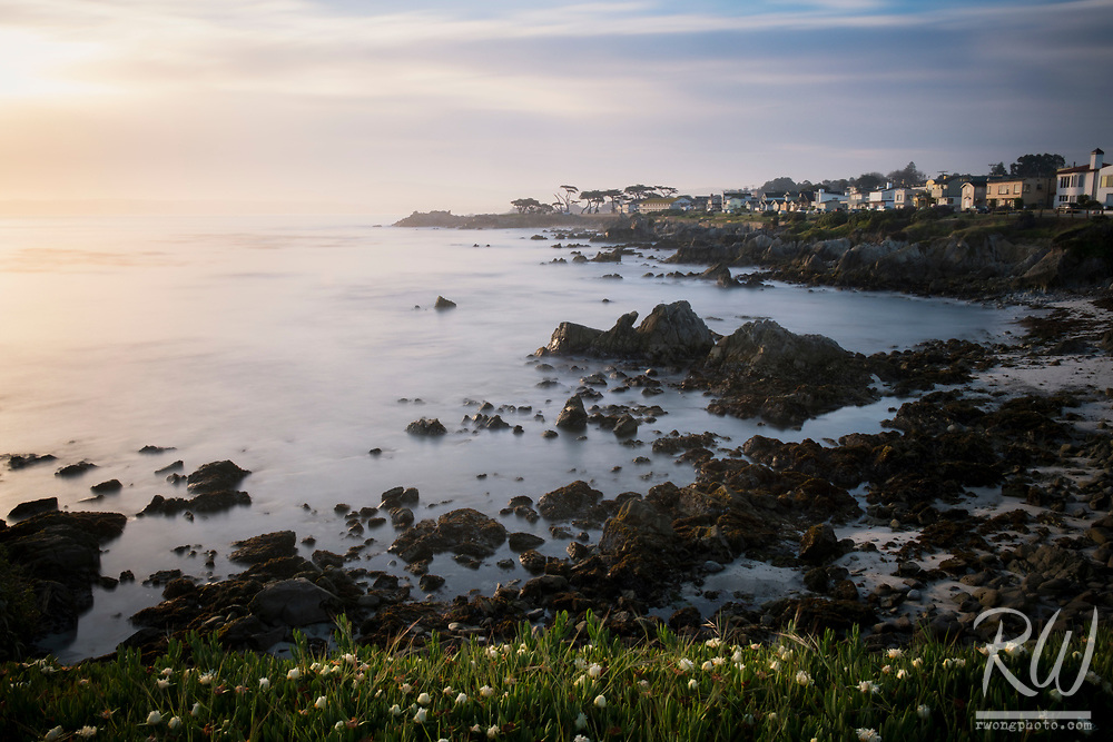 Perkins Park at Sunrise, Pacific Grove, California
