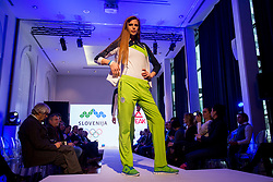 Karin Skufca at Official presentation of the Designer wear for Slovenian Athletes at PyeongChang Winter Olympic Games 2018, on December 19, 2017 in Grand Hotel Union, Ljubljana, Slovenia. Photo by Urban Urbanc / Sportida
