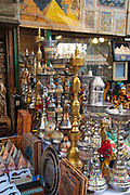 This busy and colorful open-air bazaar is located in the heart of Islamic Cairo