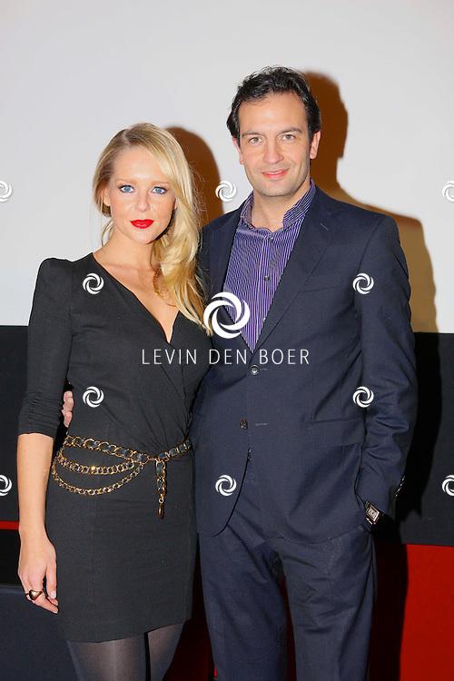 AMSTERDAM - In het Ketelhuis presenteerde RTL het nieuwe programma Divorce naar een idee van Linda de Mol. Met op de foto  Chantal Janzen en Jeroen Spitzenberger. FOTO LEVIN DEN BOER - PERSFOTO.NU