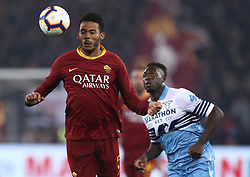 March 2, 2019 - Rome, Lazio, Italy - SS Lazio v As Roma : Serie A.Juan Jesus of Roma at Olimpico Stadium in Rome, Italy on March 2, 2019. (Credit Image: © Matteo Ciambelli/NurPhoto via ZUMA Press)