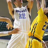 The Hoggard High School Boys faced Bullis High School in the first round of the Leon Brogden Holiday Tournament Saturday December 27, 2014 at UNCW. (Jason A. Frizzelle)