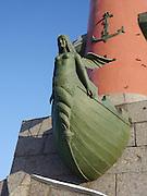 Saint Petersburg, Russia, The Rostral column
