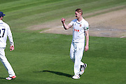 Essex bowler Jamie Porter during the Specsavers County Champ Div 2 match between Sussex County Cricket Club and Essex County Cricket Club at the 1st Central County Ground, Hove, United Kingdom on 17 April 2016. Photo by Bennett Dean.