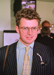 Former Grand National winning jockey MARCUS ARMYTAGE at a race meeting at Newbury on 18th September 1998.MKC 38