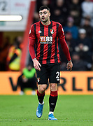 Diego Rico (21) of AFC Bournemouth during the Premier League match between Bournemouth and Liverpool at the Vitality Stadium, Bournemouth, England on 7 December 2019.