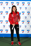 Warsaw, Poland - 2017 December 08: Tennis player Weronika Falkowska from Poland poses while Photo Session of Fed Cup Team of Polish Tennis Association at Mera Tennis Club on December 08, 2017 in Warsaw, Poland.<br /> <br /> Mandatory credit:<br /> Photo by © Adam Nurkiewicz / Mediasport<br /> <br /> Adam Nurkiewicz declares that he has no rights to the image of people at the photographs of his authorship.<br /> <br /> Picture also available in RAW (NEF) or TIFF format on special request.<br /> <br /> Any editorial, commercial or promotional use requires written permission from the author of image.